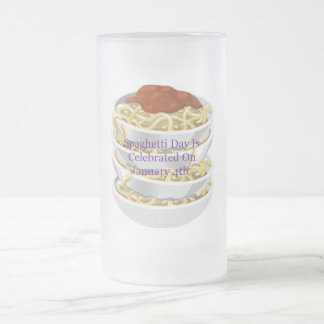 Spaghetti Day Is Celebrated On January 4th Mug