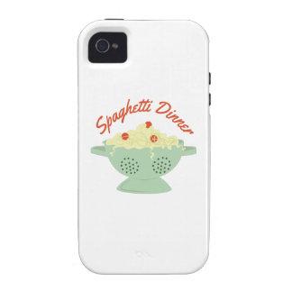 Spaghetti Dinner Case-Mate iPhone 4 Case