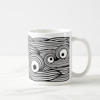 Spaghetti eyes I Basic White Mug