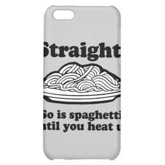 Spaghetti is Gay iPhone 5C Case