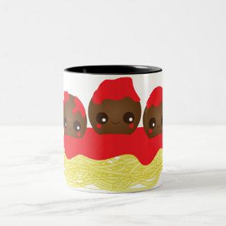 Spaghetti & Meatballs Mugs
