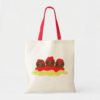 Spaghetti & Meatballs Tote Bag