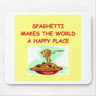 spaghetti mouse pad