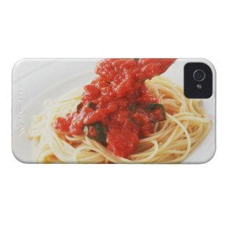 Spaghetti Pomodoro iPhone 4 Case-Mate Cases
