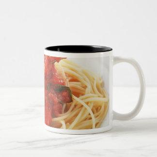 Spaghetti Pomodoro Two-Tone Coffee Mug