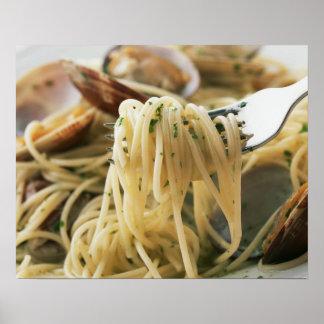 Spaghetti Vongole Bianco Poster