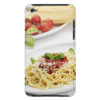 Spaghetti with tomato sauce and basil barely there iPod cover