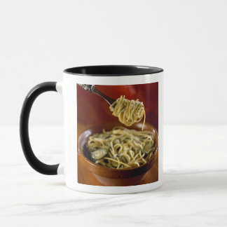 Spaghetti with zucchinis and lemon For use in Mug