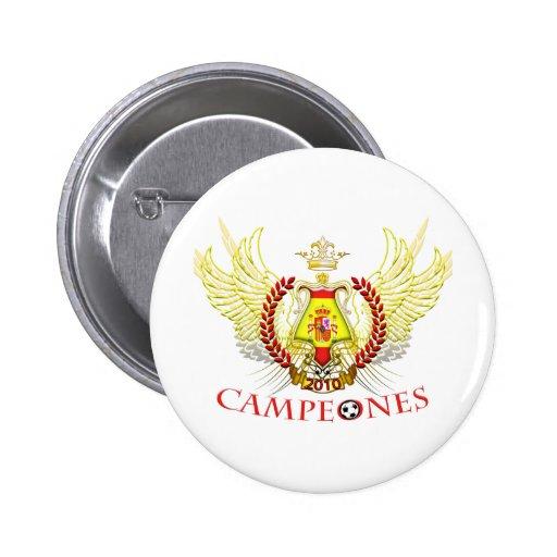 Spain 2010 Campeones (Tribal) 6 Cm Round Badge