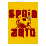 Spain 2010 greeting card