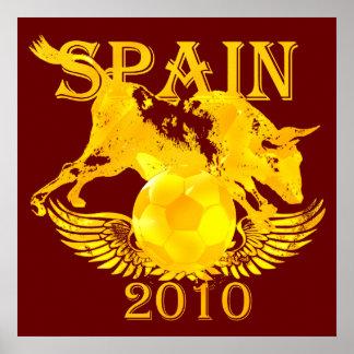 Spain 2010 Huge poster print for soccer fans
