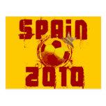 Spain 2010 postcard