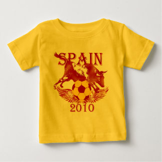 Spain 2010 soccer futbol toddlers shirt