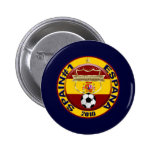 Spain 2010 Soccer World Champions 6 Cm Round Badge