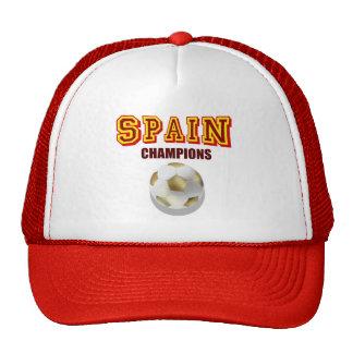 Spain 2010 World Champions Hats