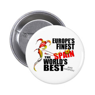 Spain 2012 Euro Cup Champions Button