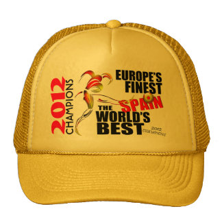 Spain 2012 Euro Cup Champions Hat
