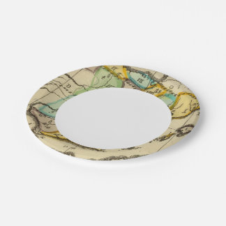 Spain 4 paper plate