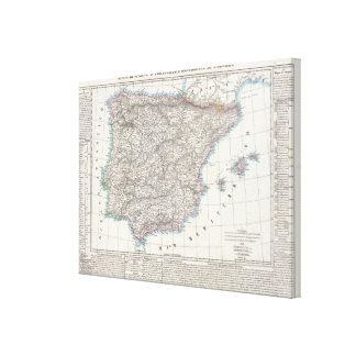Spain and Portugal 10 Canvas Print