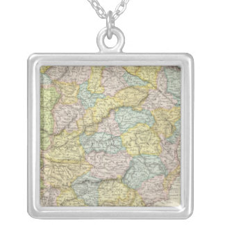 Spain and Portugal 10 Silver Plated Necklace