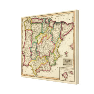 Spain and Portugal 11 Canvas Print