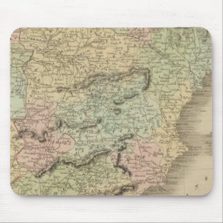 Spain and Portugal 11 Mouse Mat
