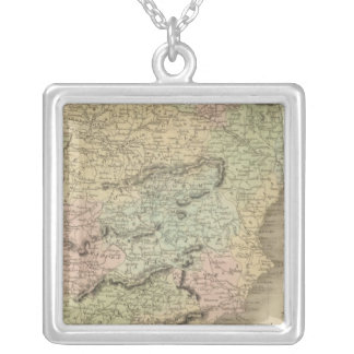 Spain and Portugal 11 Silver Plated Necklace