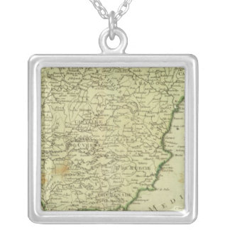 Spain and Portugal 12 Silver Plated Necklace