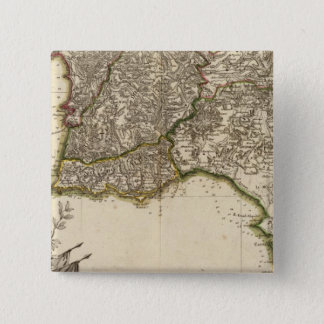 Spain and Portugal 15 15 Cm Square Badge