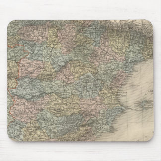 Spain and Portugal 15 Mouse Mat