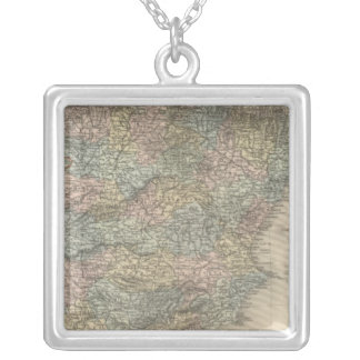 Spain and Portugal 15 Silver Plated Necklace