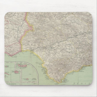 Spain and Portugal 18 Mouse Mat