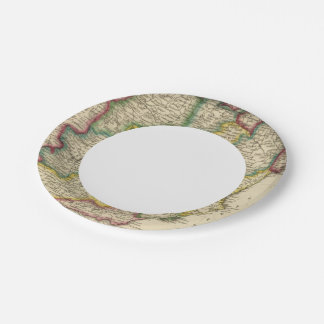 Spain and Portugal 19 7 Inch Paper Plate