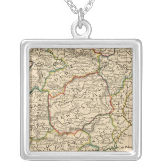 Spain and Portugal 19 Silver Plated Necklace