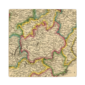 Spain and Portugal 19 Wood Coaster