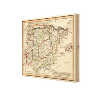 Spain and Portugal 20 Canvas Print