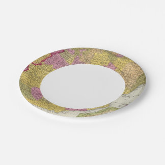 Spain And Portugal 2 7 Inch Paper Plate