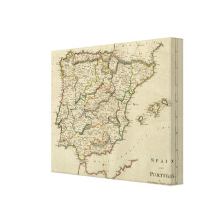 Spain And Portugal 2 Canvas Print