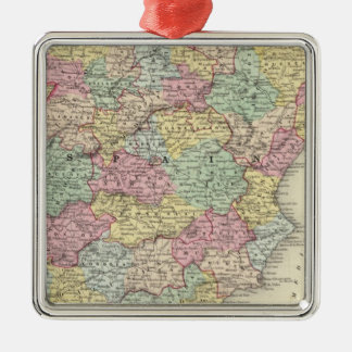 Spain And Portugal 3 Christmas Ornament