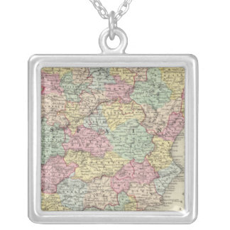 Spain And Portugal 3 Silver Plated Necklace
