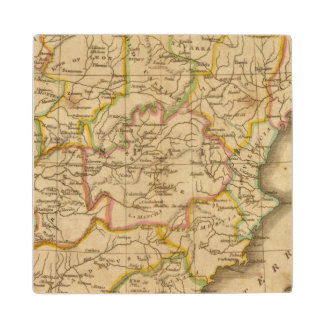 Spain and Portugal 4 Wood Coaster