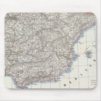 Spain and Portugal 6 Mouse Mat