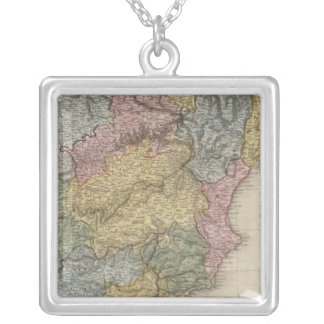 Spain and Portugal 6 Silver Plated Necklace