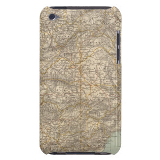 Spain And Portugal Atlas Map Barely There iPod Case
