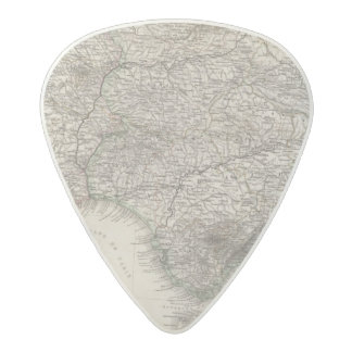 Spain and Portugal, four leaves Acetal Guitar Pick