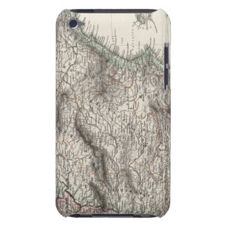 Spain and Portugal Map by Stieler iPod Touch Cover