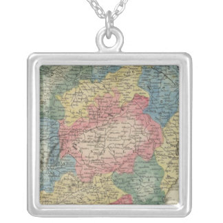 Spain and Portugal Silver Plated Necklace