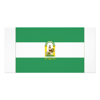 Spain Andalucia Flag Photo Greeting Card