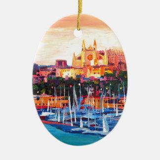Spain Balearic Island Palma De Mallorca Christmas Ornament