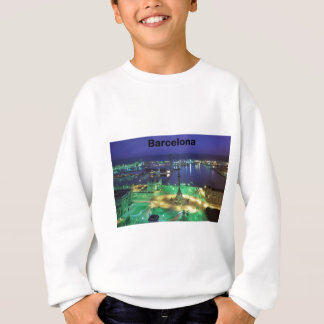 Spain Barcelona Night View (St.K) Sweatshirt